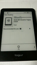 "Tagus Coral eReader, 8GB Black , 6 ""(15.24cm) Wi-Fi and Bluetooth VGC"