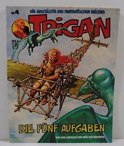 Comic -  Trigan - Die fünf Aufgaben - Nr. 4 - Copyright 1977 - gut erhalten