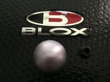 BLOX RACING 142 SILVER SHIFT KNOB 10X1.5 ACURA HONDA