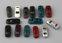 US 50pcs Z Scale 1:200 Model Car Mixed Painted for Building Highway Layout
