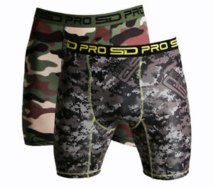 Smuggling Duds SD Pro Range Compression Shorts - Camo 2 Pack