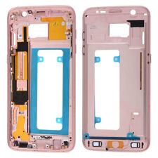 Chassis Back Housing Bezel Mid Middle Frame+3MSticker For Samsung Galaxy S7 Edge