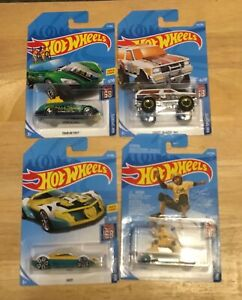 Hot Wheels Sports Set Of Four