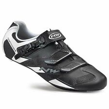 Northwave Sonic 2 SRS Road Bike Shoes, Black/White, 43