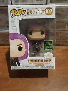 Funko Pop Harry Potter 107 Nymphadora Tonks 2020 ECCC Exclusive