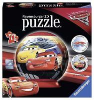 Ravensburger 11825 Disney Pixar Cars 3 72pc 3D Jigsaw Globe Toy
