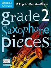Categoria 2 Alto Sassofono Pezzi Impara a giocare SAX MUSICA Exam BOOK & Download Card