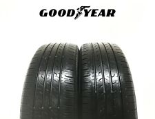 2X 225/55R19 - GOODYEAR EFFICIENT GRIP **6mm** PART WORN PAIR - SUV 4X4 - 99V