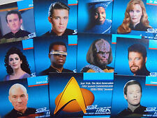 1992 Impel: Star Trek The Next Generation Inaugural Series Set (120 cards)