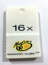 Mad Catz Brand Nintendo GameCube Memory Card 16X (1019 Blocks)