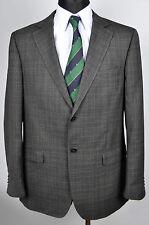 ERMENEGILDO ZEGNA Checked Tartan Blazer UK 42 Suit Jacket Coat Sakko Gr.52 Jacke