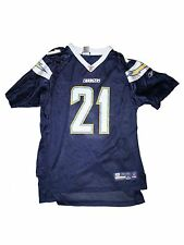 Boy Youth Chargers #21 LaDainian Tomlinson Football Jersey Size XL 18/20
