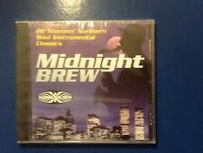 MIDNIGHT.  BREW.              CD.  ON.     GOLDMINE. SOUL. SUPPLY. LABEL.