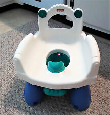 Fisher-Price Royal Musical Potty Chair w/ Boy Deflector Removeable Legs