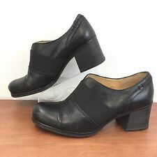 Naturalizer Rusher Shoe Bootie Black Leather N5 Comfort Great Look Womens 6.5 M