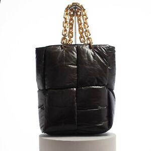BOTTEGA VENETA 4980$ The Chain Tote Bag Fondant Padded Intrecciato Calf Leather