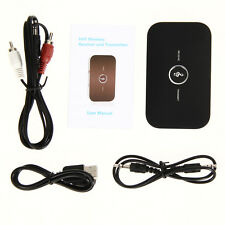 Wireless Bluetooth 2 in 1 Audio Receiver Transmitter Music Sound Adapter NEW