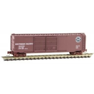 Z Scale - MICRO-TRAINS LINE 506 00 321 SOUTHERN PACIFIC 50' Double Door Box Car