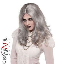 Adult Ladies Zombie Wig Womens Halloween Fancy Dress Costume Accessory New