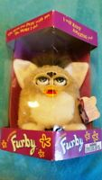 Furby from 1998 Tiger Electronic, Beige and White, Model 70-800 - New / Sealed