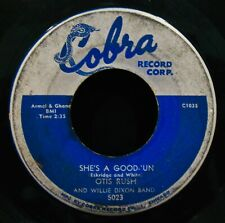 OTIS RUSH & WILLIE DIXON~She's A Good 'Un ✦ Rare Chicago Blues 45~COBRA #5023