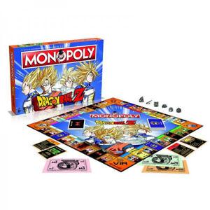 Winning Moves - Gioco da Tavolo - Monopoly di Dragon Ball Z in ITALIANO Monopoli