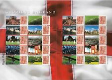 2007 GB. - Glorious England - Full Smilers Sheet - Mint Never Hinged.
