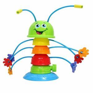 Banzai Wiggling WATERPILLAR 8 Sprinkling Water Sprinkler Toy Kids Backyard Summe
