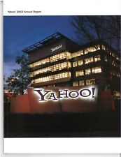2003 Annual Report of Yahoo!