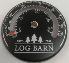 Log-Barn Magnetic Log Burner & Stove Thermometer