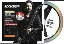 "DVD CARTONNE CARDSLEEVE ""DVD GUITAR PART"" VOL. 85 AVEC LE MAG N° 258 DE 2015 TBE"