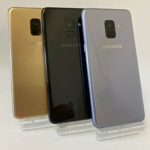 SAMSUNG GALAXY A8 (2018) A530F - Unlocked - Smartphone Mobile Phone