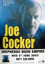 JOE COCKER TOURPOSTER KONZERTPLAKAT RESPECT YOURSELF TOUR LONDON SHEPHERDS BUSH