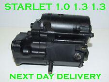 Toyota starlet 1.0 1.3 1.3  starter motor 1984 1985 1986 1987 1988 - 1996
