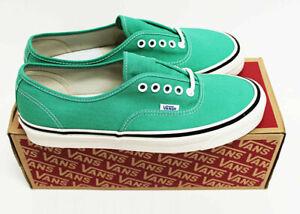 NIB VANS Men's Authentic 44 DX OG Jade Anaheim Factory Sz 11 Low Sneakers Shoes