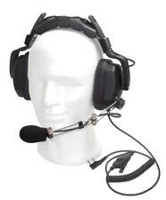 Eartec MAX DOUBLE auricolare per Kenwood, Baofeng, Wouxun, Maas, TYT, retevis Radio