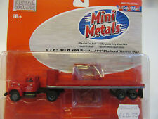 1:87 Classic Metal Works  USA  International R190  PIE Flatbed Truck