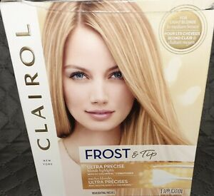 Clairol FROST & TIP Ultra Precise BLONDE Highlight Kit for blonde/medium brown