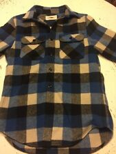 Ralph Lauren Denim And Supply Plaid Flannel Blue And Gray Small Awesome
