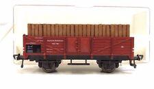 Güterwagen mit Holzladung Fleischmann 5203 H0  OVP (FS)