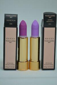 Gucci Lipstick Rouge A Levres Mat Lip Colour BNIB 3.5g/0.12oz~choose your shade~