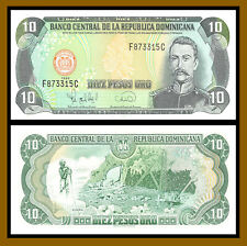 Dominican Republic 10 Pesos Oro, 1996 P-153 Uncirculated unc