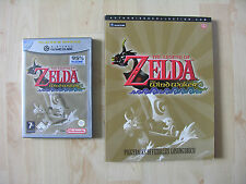 The Legend of Zelda the Wind Waker + asesor gamcecube Nintendo ZIP cip OVP GC