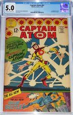 Captain Atom #83 CGC 5.0 from 1966 1st appearance of the Blue Beetle (Ted Kord)