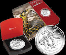 Australian Lunar 2013 Snake 1 kilo Silver Proof Coin 500 Limited Edition