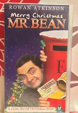 Mr Bean - Merry Christmas Mister Bean VHS Video Tape Comedy Collectable TBLO