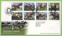 G.B. 2017 Racehorse Legends set on Royal Mail First Day Covers, Tallents House