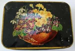 Vintage Edward Sharp & Sons Kreemy Works Maidstone Tin