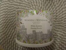 Woods Of Windsor~White Jasmine~Dusting Powder & Puff 3.5 Oz