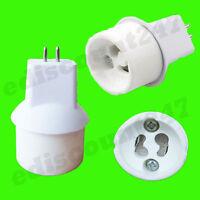 HIGH QUALITY MR16 To GU10 Lamp Holder Adaptor Converter UK SELLER FAST DISPATCH
